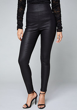 bebe Textured Leggings