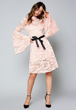 bebe MacKenzie Lace Dress