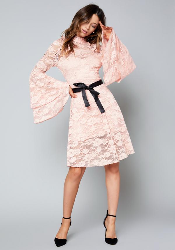 MacKenzie Lace Dress at bebe in Sherman Oaks, CA | Tuggl