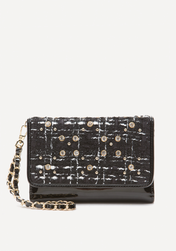 Cher Boucle Tech Wristlet at bebe in Sherman Oaks, CA | Tuggl