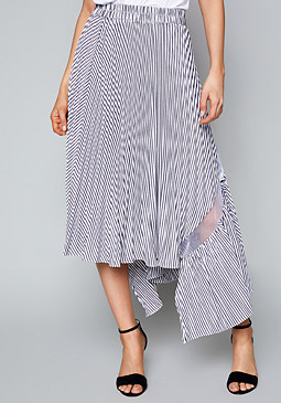 bebe Bailey Asymmetric Skirt