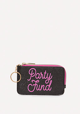 bebe Party Fund Change Purse