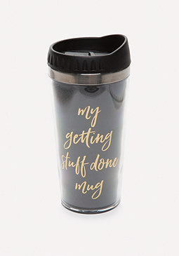 bebe Stuff Done Travel Mug