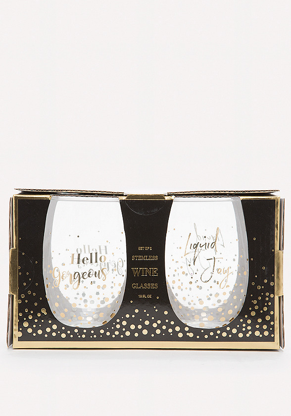 Hello Gorgeous Wine Glasses