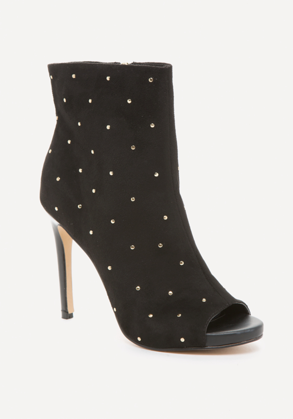Claudiah Studded Booties at bebe in Sherman Oaks, CA | Tuggl