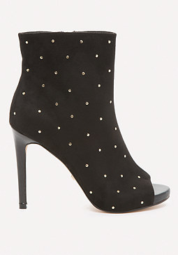 bebe Claudiah Studded Booties