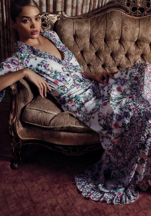 Jayda Chiffon Maxi Dress at bebe in Sherman Oaks, CA | Tuggl