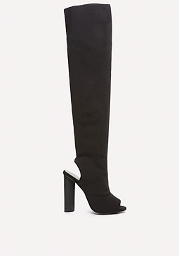 bebe Vertex Over the Knee Boots