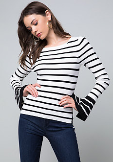 Becca Striped Sweater