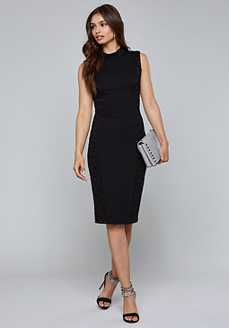 bebe Curve Seam Dress