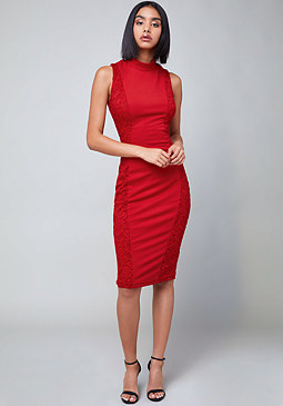 Bebe Curve Seam Dress