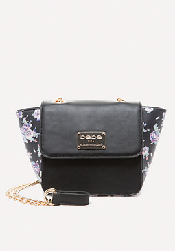 bebe Winter Rose Crossbody Bag