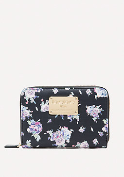 bebe Winter Rose Wallet