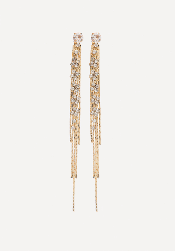 Chain Thread Long Earrings at bebe in Sherman Oaks, CA | Tuggl
