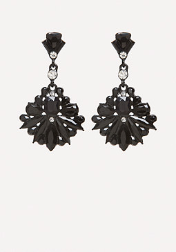 bebe Stone Drop Earrings