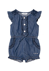 bebe Denim Romper