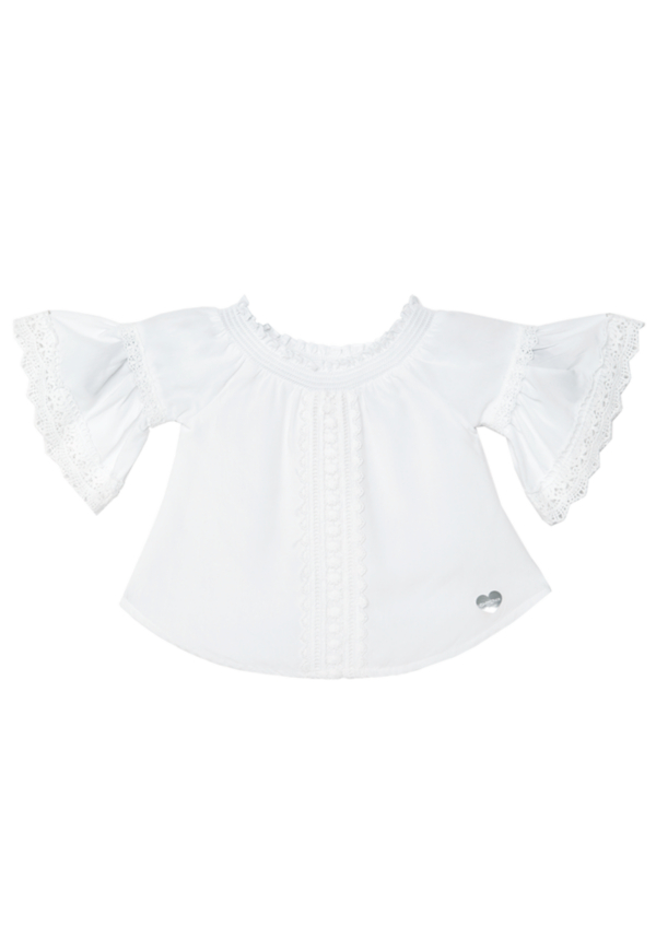 Crochet Trim Voile Top at bebe in Sherman Oaks, CA | Tuggl