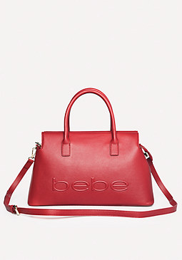 bebe Goldie Satchel