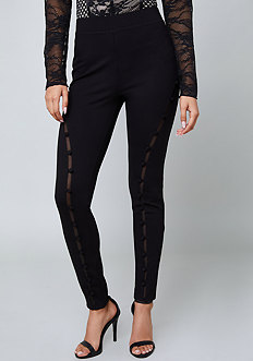 Covered Button Leggings