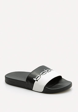Millee Platform Slides at bebe
