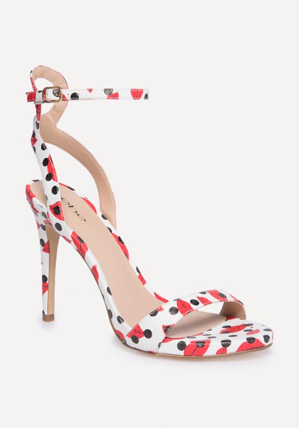 Rosa Faux Snake Sandals | Tuggl