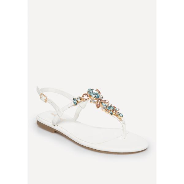 1ed402ceb Lana Jeweled Flat Sandals