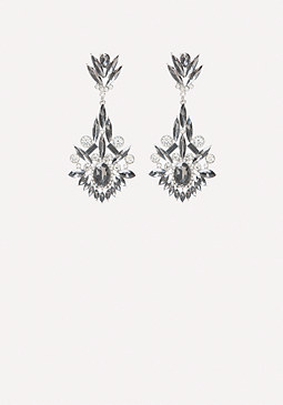 bebe Stone Encrusted Earrings