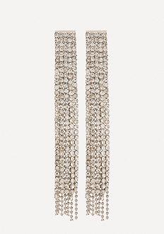 Crystal Linear Earrings