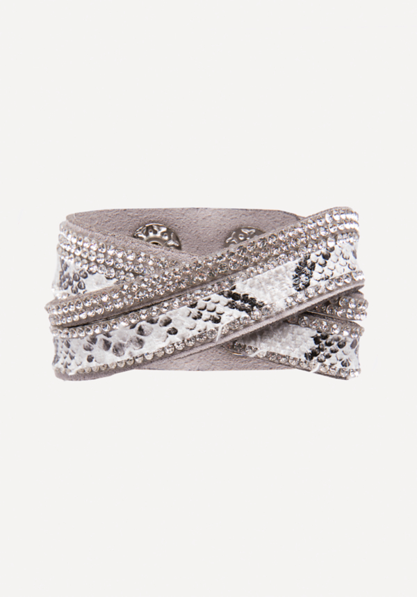 Faux Python Wrap Bracelet at bebe in Sherman Oaks, CA | Tuggl