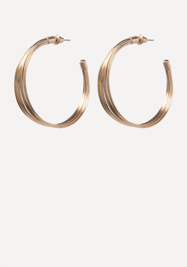 Multi-Wire Hoop Earrings at bebe in Sherman Oaks, CA | Tuggl