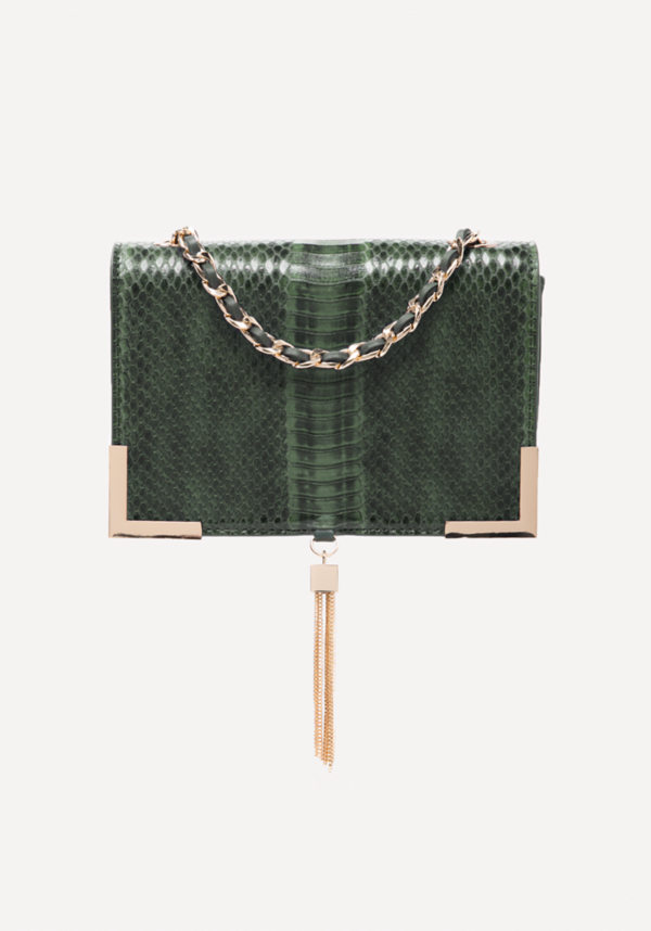 Faux Snake Crossbody Bag at bebe in Sherman Oaks, CA | Tuggl