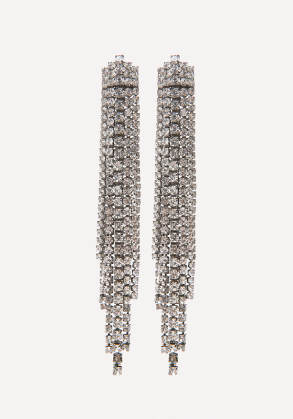 Crystal Drama Earrings at bebe in Sherman Oaks, CA | Tuggl