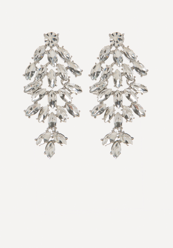 Crystal Cluster Earrings at bebe in Sherman Oaks, CA | Tuggl