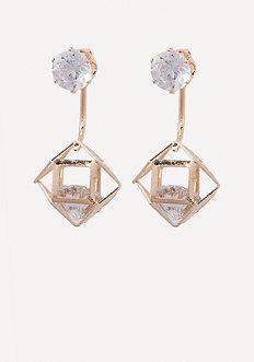 Floating Crystal Earrings