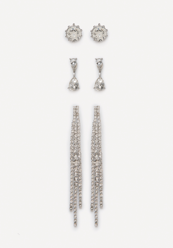 Crystal Earring Set at bebe in Sherman Oaks, CA | Tuggl