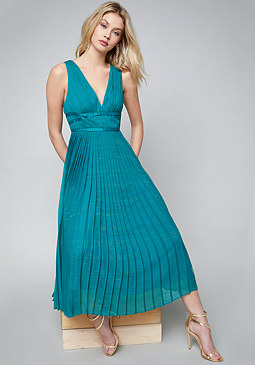 bebe Abigail Chiffon Maxi Dress