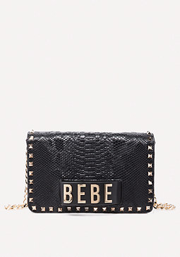bebe Leather Convertible Bag