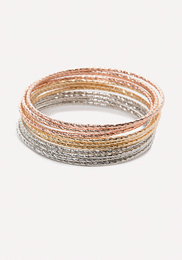 bebe Colorful Bangle Set