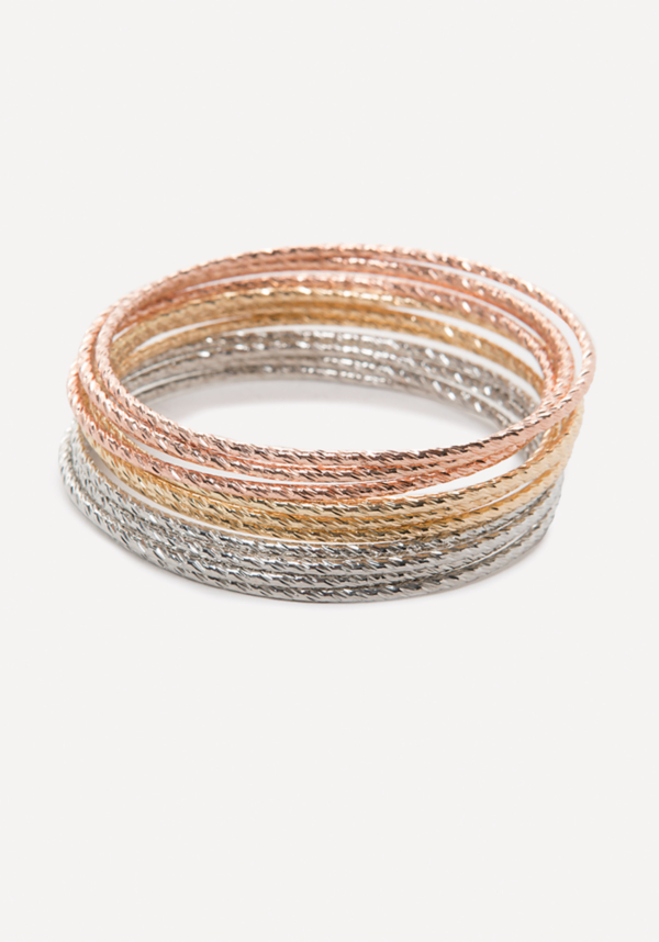 Colorful Bangle Set at bebe in Sherman Oaks, CA | Tuggl