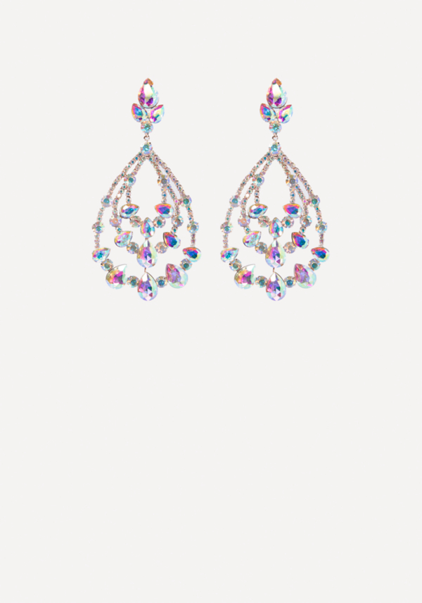 Crystal Teardrop Earrings at bebe in Sherman Oaks, CA | Tuggl