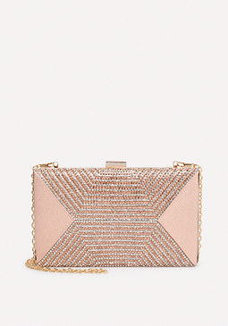 bebe Crystal Clutch