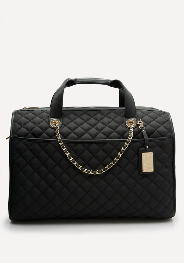 Quilted Weekender Bag at bebe in Sherman Oaks, CA | Tuggl