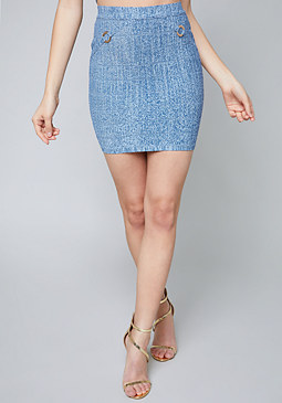 bebe Grace Bandage Skirt