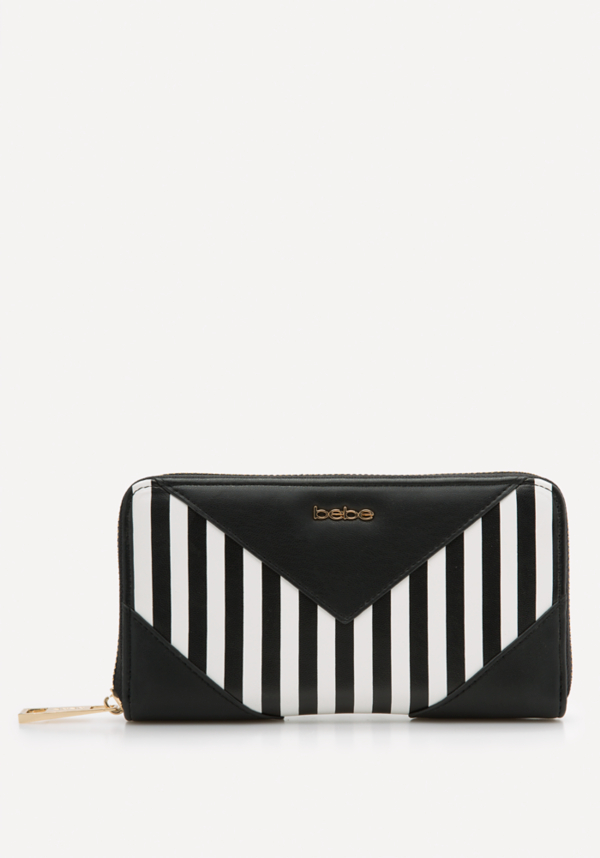 Kiki Chevron Wallet at bebe in Sherman Oaks, CA | Tuggl