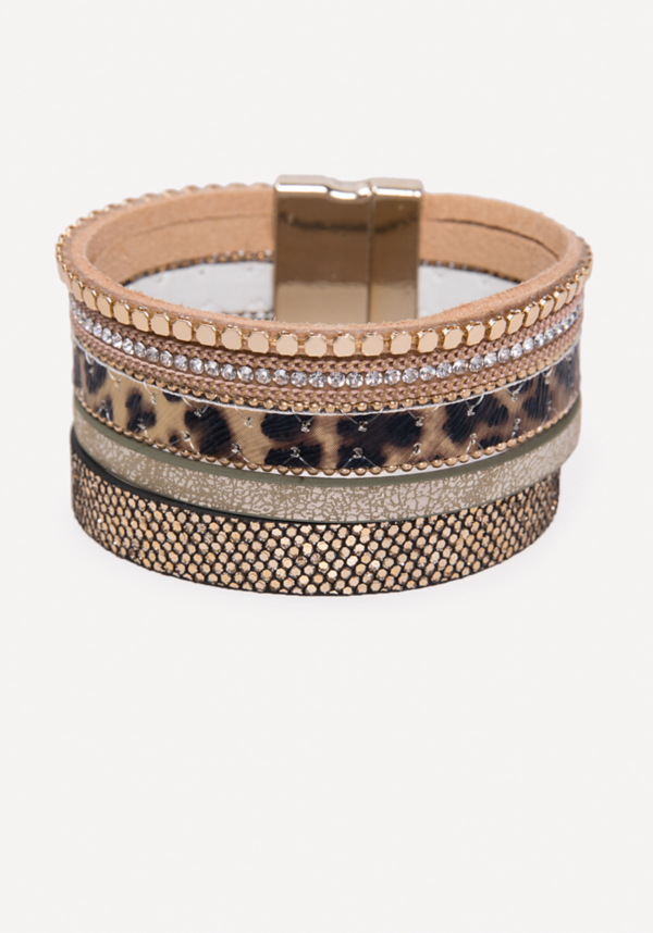 Mix Strand Bracelet at bebe in Sherman Oaks, CA | Tuggl