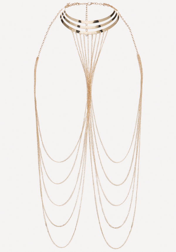 Collar Body Chain at bebe in Sherman Oaks, CA | Tuggl