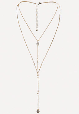bebe Long Chain Necklace