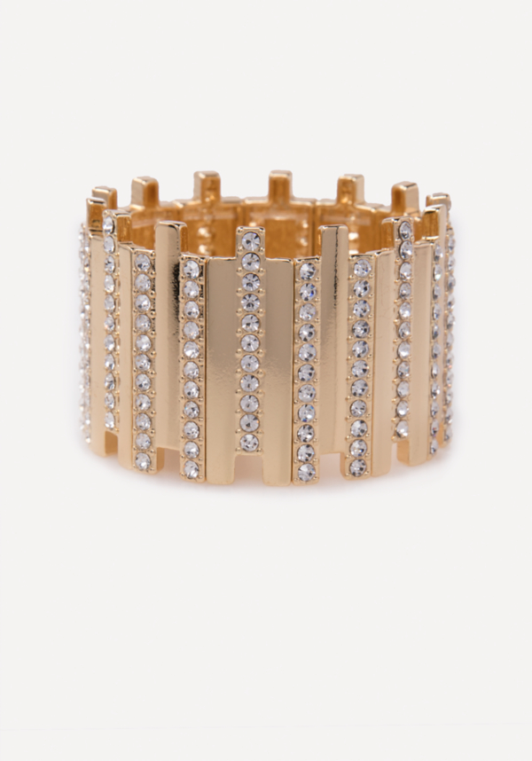 Crystal Stretch Cuff at bebe in Sherman Oaks, CA | Tuggl