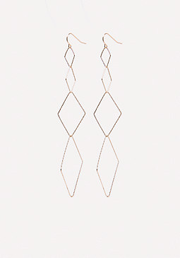 bebe Diamond Cut Earrings