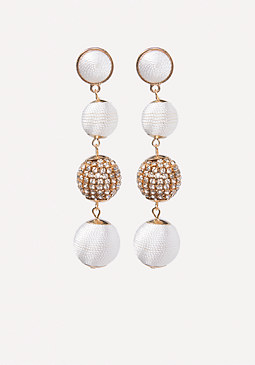 bebe Ball Earrings